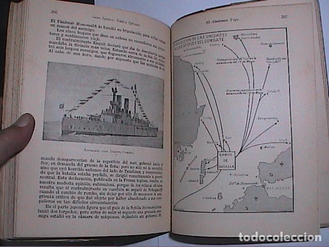 Militaria: EL ALMIRANTE TOGO. HÉROE NAVAL JAPONES. FINALES XIX PRINCIPIOS XX.ED. NAVAL 1942. MADRID. - Foto 4 - 153567738