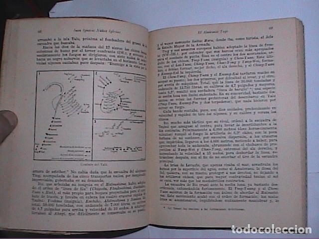 Militaria: EL ALMIRANTE TOGO. HÉROE NAVAL JAPONES. FINALES XIX PRINCIPIOS XX.ED. NAVAL 1942. MADRID. - Foto 8 - 153567738