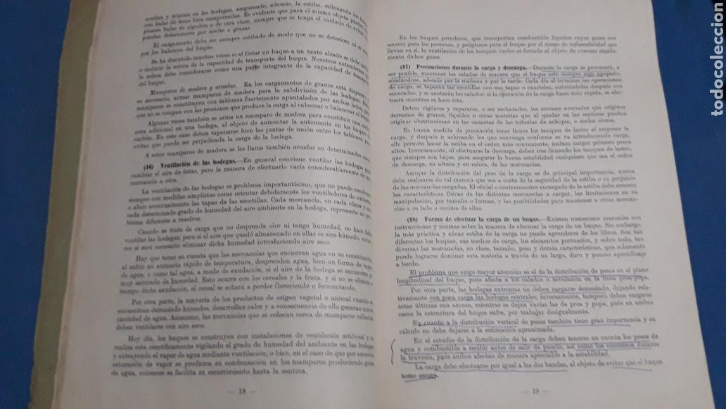 Militaria: ESTIBA DE LA CARGA 2°EDICION CADIZ 1957 - Foto 6 - 153727458