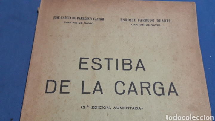 Militaria: ESTIBA DE LA CARGA 2°EDICION CADIZ 1957 - Foto 2 - 153727458