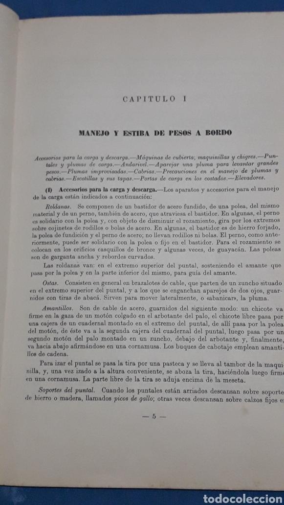 Militaria: ESTIBA DE LA CARGA 2°EDICION CADIZ 1957 - Foto 4 - 153727458