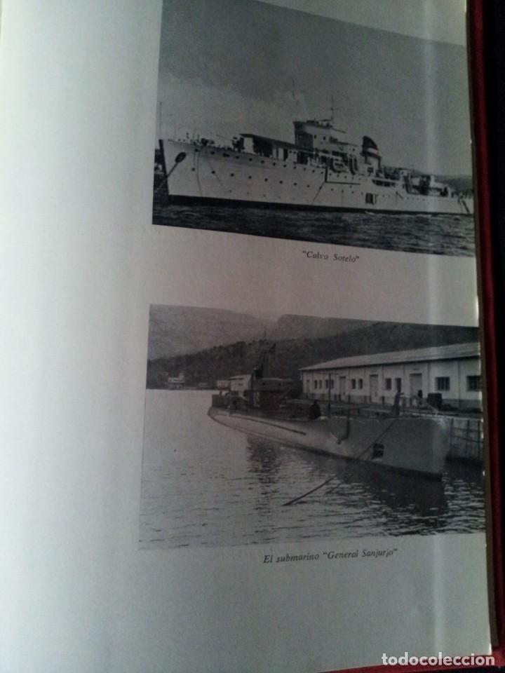 Militaria: ALMIRANTE JUAN CERVERA VALDERRAMA - MEMORIAS DE GUERRA - EDITORIAL NACIONAL 1968 - Foto 5 - 153729374