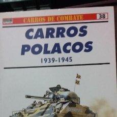 Militaria: CARROS POLACOS 1939-1945. OSPREY CARROS DE COMBATE. Lote 153830926
