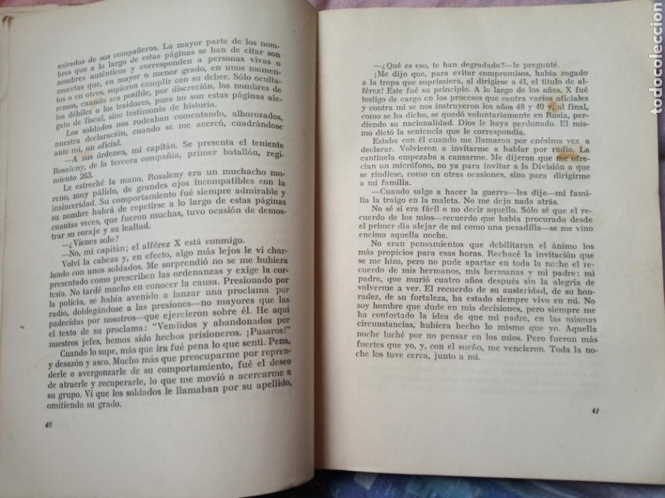 Militaria: Libro division azul embajador en el infierno.blau.falange.guerra civil.nacional.militar.franco - Foto 3 - 153977290