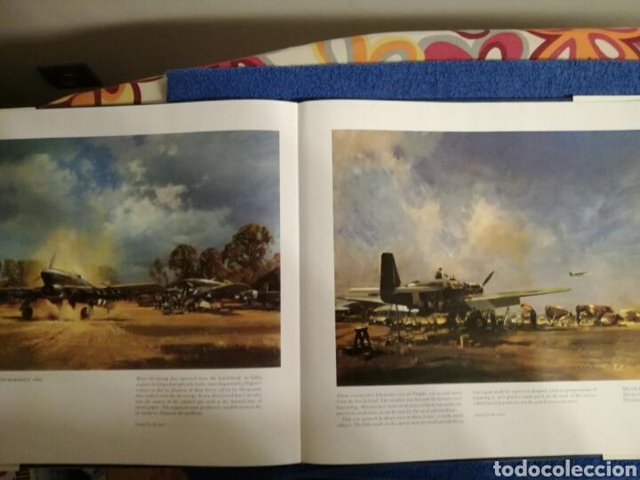 Militaria: Libro con ilustraciones y dibujos de aviones y combates de la Segunda Guerra Mundial.Frank Wootton - Foto 4 - 154334753