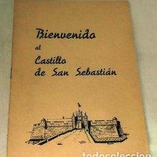 Militaria: BIENVENIDO AL CASTILLO DE SAN SEBASTIÁN, ESCUELA DE APLICACIÓN Y TIRO DE ARTILLERÍA, 500 EJ.. Lote 154420510