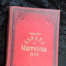 Militaria: ESPAÑA EN MARRUECOS - CRONICA DE LA CAMPAÑA DE 1909 - AUGUSTO RIERA - ILUSTRADO. Lote 154492986