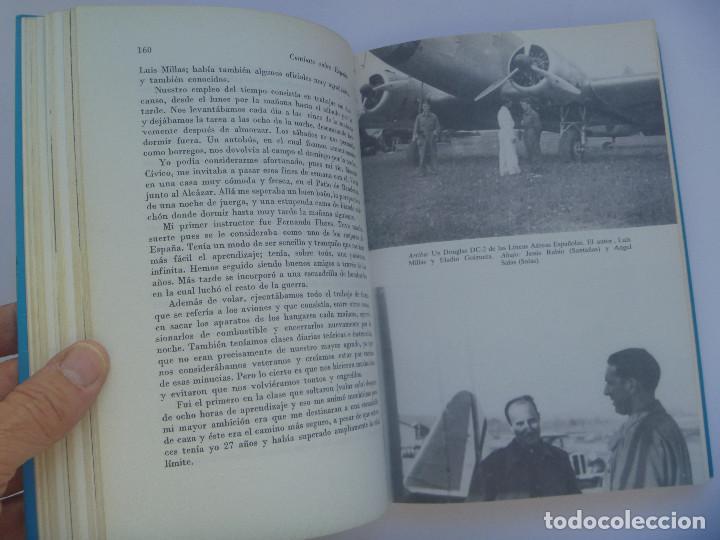 Militaria: GUERRA CIVIL- AVIACION: COMBATE SOBRE ESPAÑA, MEMORIAS DE UN PILOTO DE CAZA. JOSE LARIOS. SAN MARTIN - Foto 2 - 155173966