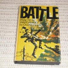 Militaria: BATTLE - PRACTICAL WARGAMING - 1974 -. Lote 155486654