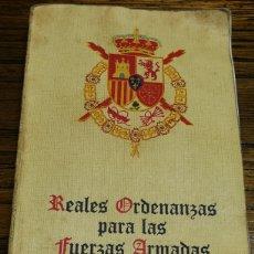 Militaria: MANUAL REALES ORDENANZAS PARA LAS FUERZAS ARMADAS- EJÉRCITO ESPAÑOL, 1979.. Lote 155722873