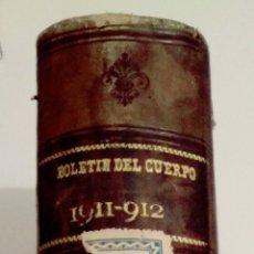 Militaria: 633 - BOLETÍN DE ADMINISTRACIÓN MILITAR CUARTA ÉPOCA TOMO XXIV 1911 - 1912. Lote 155869268