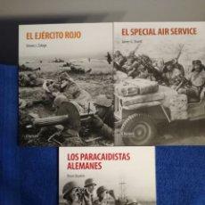 Militaria: LOTE DE 3 NUMEROS DE OSPREY PUBLISHING SOBRE COMANDOS Y PARACAIDISTAS EN LA SEGUNDA GUERRA MUNDIAL. Lote 155886706