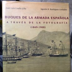 Militaria: BUQUES DE LA ARMADA ESPAÑOLA 1849 - 1900. Lote 155919526