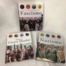 Militaria: LOTE LIBROS NAZISMO FASCISMO PRIMERA GM. Lote 155931988