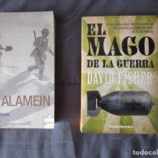 Militaria: 2 LIBROS DE LA SEGUNDA GUERRA MUNDIAL. Lote 156036674