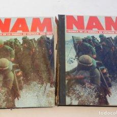 Militaria: NAM. CRÓNICA DE LA GUERRA DE VIETNAM 1965-1975 (2 TOMOS). PLANETA-AGOSTINI, 1988.. Lote 156488094