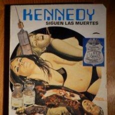 Militaria: COMIC - KENNEDY - Nº 3 - PUBLICACIÓN PARA ADULTOS - SIGUEN LAS MUERTES - MERCOCOMIC - 1977 . Lote 156684458