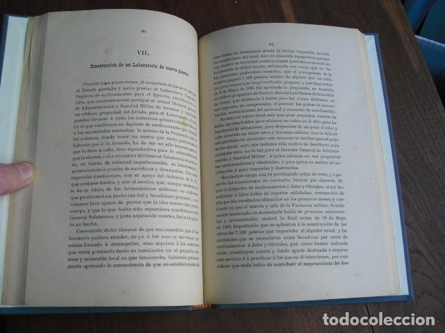 Militaria: 1886 LA FARMACIA MILITAR DEL EJERCITO ESPAÑOL J PELEGRÍ - Foto 3 - 156893958