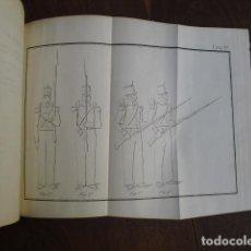 Militaria: 1850 REGLAMENTO PARA EL EJERCICIO Y MANIOBRAS DE LA INFANTERIA DOS TOMOS EN UN VOLUMEN 22 LÁMINAS. Lote 156894906