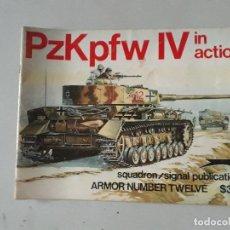 Militaria: SQUADRON SIGNAL PZKPFW IV IN ACTION. Lote 157065810