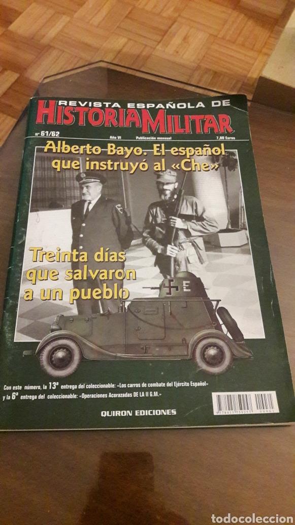 REVISTA DE HISTORIA MILITAR 61/62 (Militar - Libros y Literatura Militar)