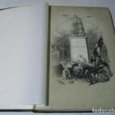 Militaria: 1852 ESTADO MAYOR GENERAL DEL EJERCITO ESPAÑOL SECCIÓN DE BRIGADIERES CHAMORRO Y BAQUERIZO. Lote 158895486