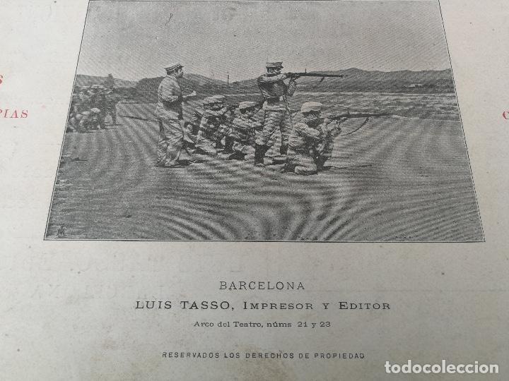 Militaria: ANTIGUO Y PRECIOSAS 16 AUTOTIPIAS DEL EJERCITO ESPAÑOL - 3er CUADERNO - COLECCION DE FOTOGRAFIAS INS - Foto 2 - 158944754