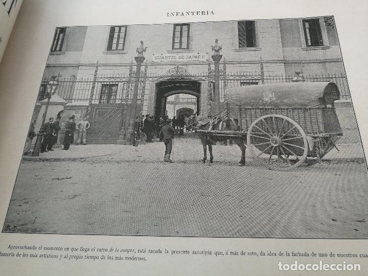 Militaria: ANTIGUO Y PRECIOSAS 16 AUTOTIPIAS DEL EJERCITO ESPAÑOL - 3er CUADERNO - COLECCION DE FOTOGRAFIAS INS - Foto 3 - 158944754