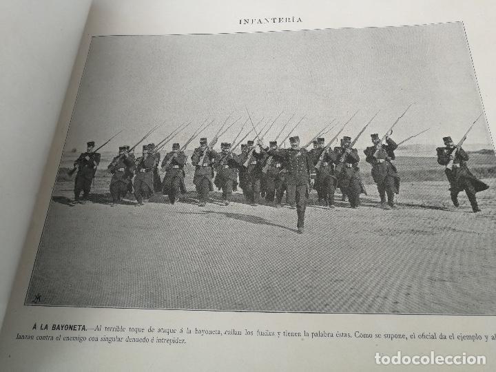 Militaria: ANTIGUO Y PRECIOSAS 16 AUTOTIPIAS DEL EJERCITO ESPAÑOL - 3er CUADERNO - COLECCION DE FOTOGRAFIAS INS - Foto 5 - 158944754