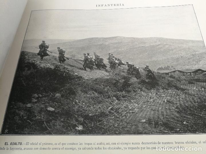 Militaria: ANTIGUO Y PRECIOSAS 16 AUTOTIPIAS DEL EJERCITO ESPAÑOL - 3er CUADERNO - COLECCION DE FOTOGRAFIAS INS - Foto 8 - 158944754