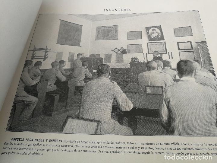 Militaria: ANTIGUO Y PRECIOSAS 16 AUTOTIPIAS DEL EJERCITO ESPAÑOL - 3er CUADERNO - COLECCION DE FOTOGRAFIAS INS - Foto 9 - 158944754