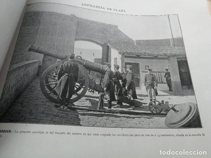 Militaria: ANTIGUO Y PRECIOSAS 16 AUTOTIPIAS DEL EJERCITO ESPAÑOL - 3er CUADERNO - COLECCION DE FOTOGRAFIAS INS - Foto 10 - 158944754