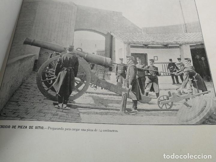 Militaria: ANTIGUO Y PRECIOSAS 16 AUTOTIPIAS DEL EJERCITO ESPAÑOL - 3er CUADERNO - COLECCION DE FOTOGRAFIAS INS - Foto 11 - 158944754