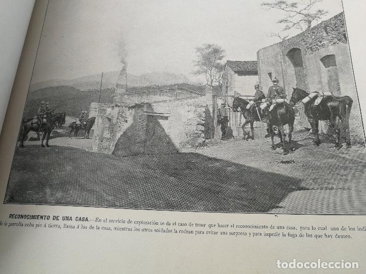 Militaria: ANTIGUO Y PRECIOSAS 16 AUTOTIPIAS DEL EJERCITO ESPAÑOL - 3er CUADERNO - COLECCION DE FOTOGRAFIAS INS - Foto 12 - 158944754