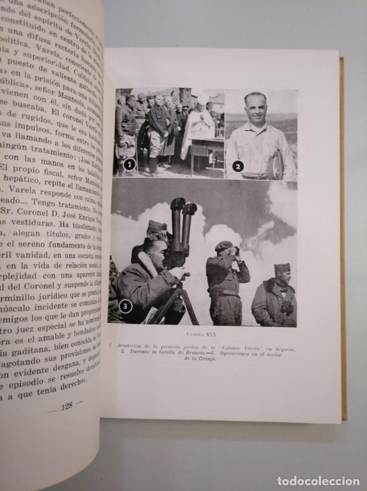 Militaria: UN SOLDADO EN LA HISTORIA. - VIDA DEL CAPITÁN GENERAL VARELA - 1954 - JOSE MARÍA PEMAN. TDK380 - Foto 3 - 159183130