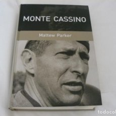Militaria: MONTE CASSINO DE MATTEW PARKER RBA COLECCIONABLES S.A AÑO 2006. Lote 159232362