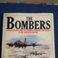 Militaria: LIBRO BOMBARDEROS.ILUSTRACIONES CON EVOLUCION ESTRATEGIAS ATAQUE BOMBARDEROS SEGUNDA GUERRA MUNDIAL. Lote 159289432