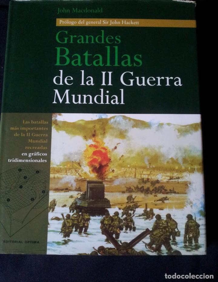 Militaria: GRANDES BATALLAS - 3 TOMOS - EDITORIAL OPTIMA 2001 - Foto 2 - 159596246