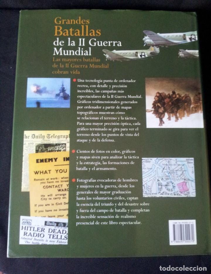 Militaria: GRANDES BATALLAS - 3 TOMOS - EDITORIAL OPTIMA 2001 - Foto 3 - 159596246