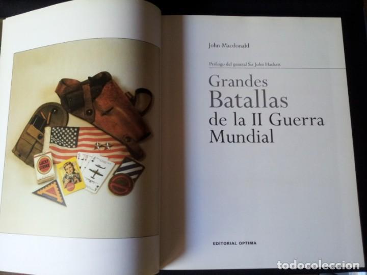 Militaria: GRANDES BATALLAS - 3 TOMOS - EDITORIAL OPTIMA 2001 - Foto 4 - 159596246