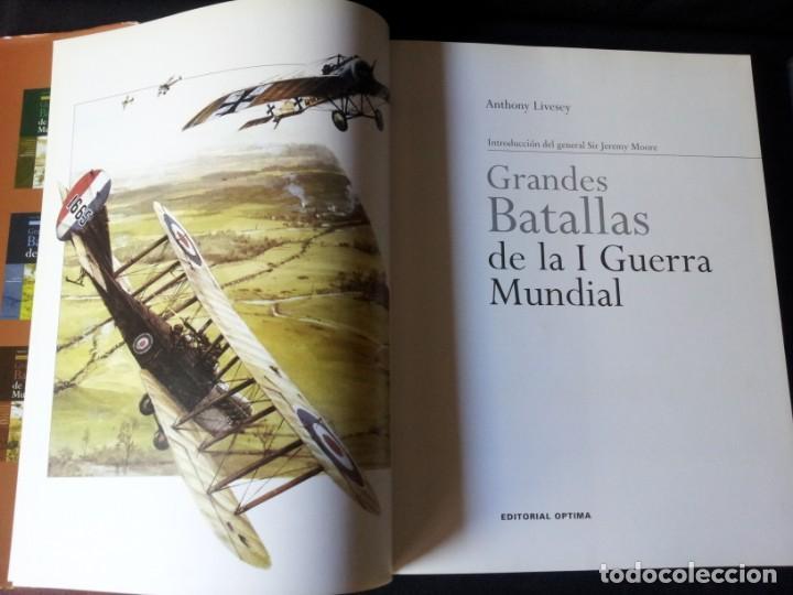 Militaria: GRANDES BATALLAS - 3 TOMOS - EDITORIAL OPTIMA 2001 - Foto 10 - 159596246