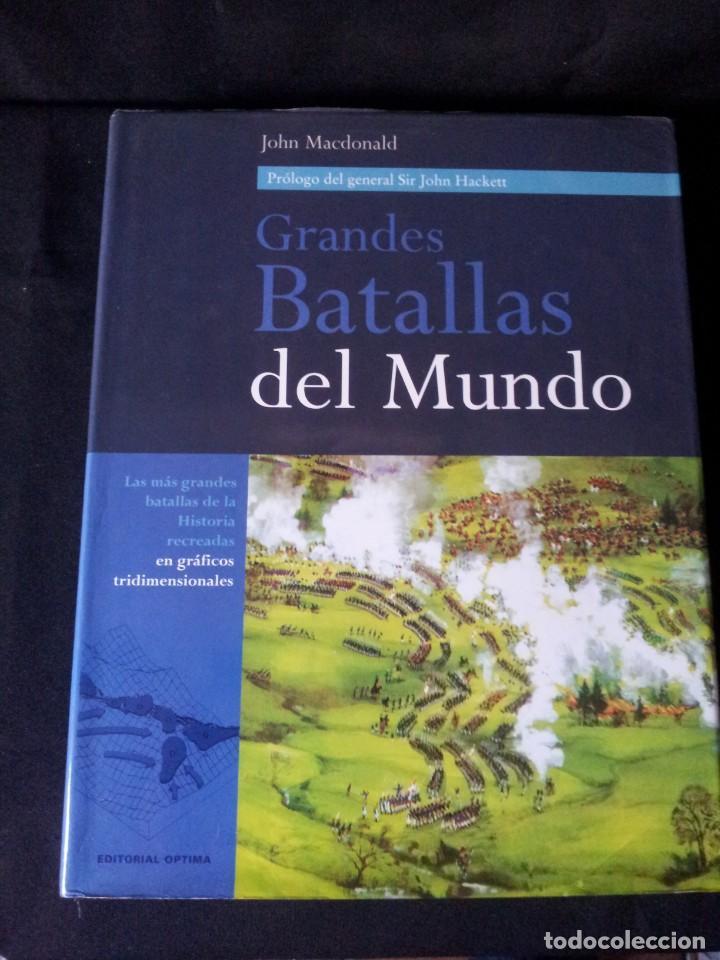 Militaria: GRANDES BATALLAS - 3 TOMOS - EDITORIAL OPTIMA 2001 - Foto 14 - 159596246