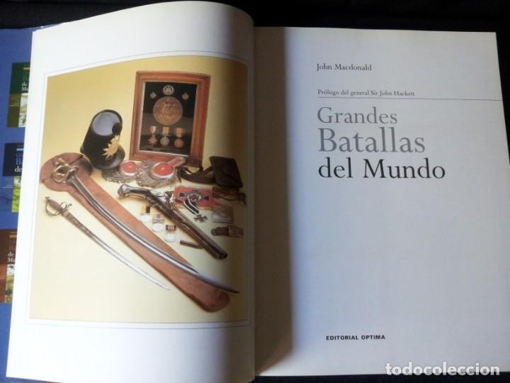 Militaria: GRANDES BATALLAS - 3 TOMOS - EDITORIAL OPTIMA 2001 - Foto 15 - 159596246