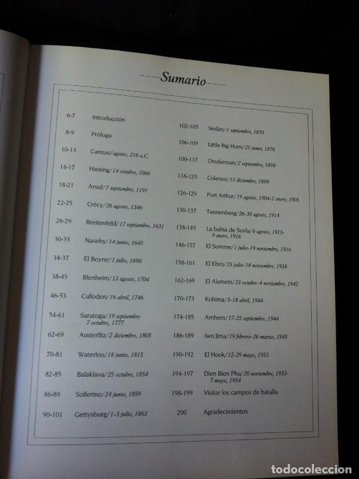 Militaria: GRANDES BATALLAS - 3 TOMOS - EDITORIAL OPTIMA 2001 - Foto 18 - 159596246