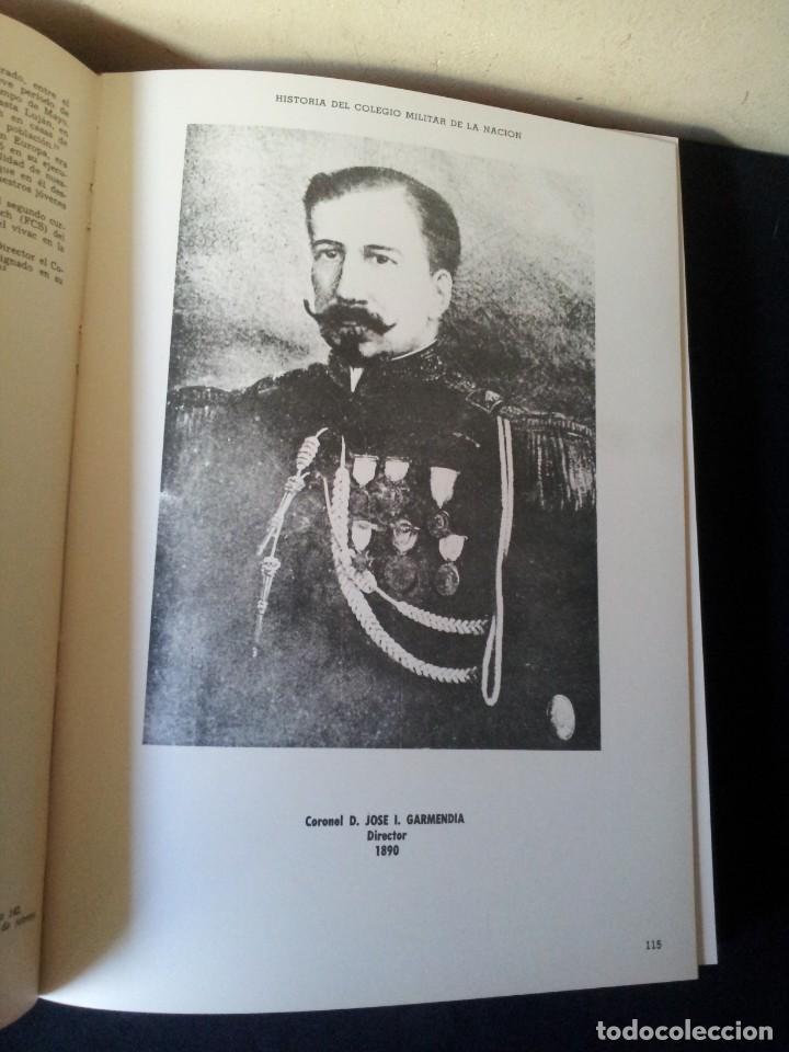 Militaria: HISTORIA DEL COLEGIO MILITAR DE LA NACION - EDICION EN SU CENTENARIO 1869/1969 - Foto 3 - 159793422