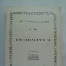 Militaria: ACADEMIA GENERAL MILITAR : INTRODUCCION A LA INFORMATICA . ZARAGOZA, 1986. Lote 160391658