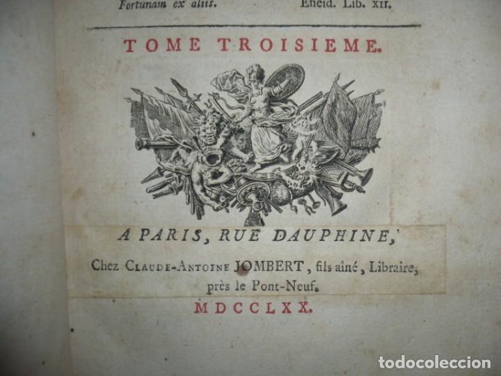 Militaria: MEMOIRES DE MONTECUCULI COMTE TURPIN DE CRISSE 1770 PARIS TOME 3º - Foto 5 - 160543382