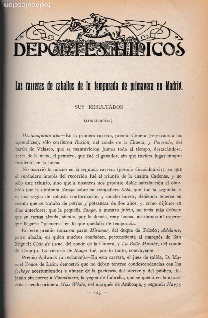 Militaria: Revista MEMORIAL DE CABALLERÍA- 1923 * CABALLOS * - Foto 10 - 160654410