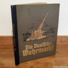 Militaria: 1936 ALBUM ALEMAN - EL EJERCITO ALEMAN - CROMOS - DIE DEUTSCHE WEHRMACHT - NAZISMO - HITLER. Lote 160945206