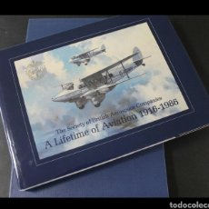 Militaria: LIBRO DE ILUSTRACIONES DE AVIONES DE LA SEGUNDA GUERRA MUNDIAL A LIFETIME OF AVIATION 1916-1986. Lote 161515505